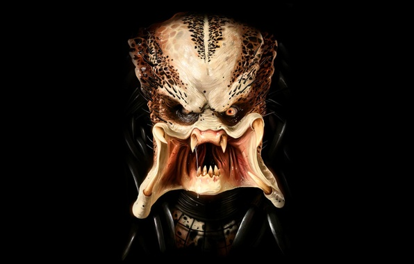 Picture monster, predator, mug, Predator