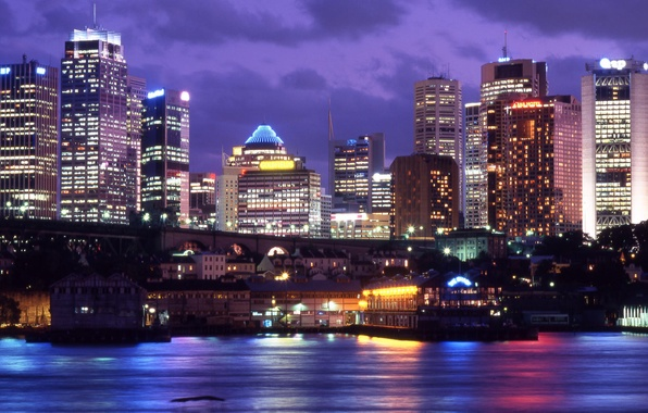Picture Sydney, Australia, downtown