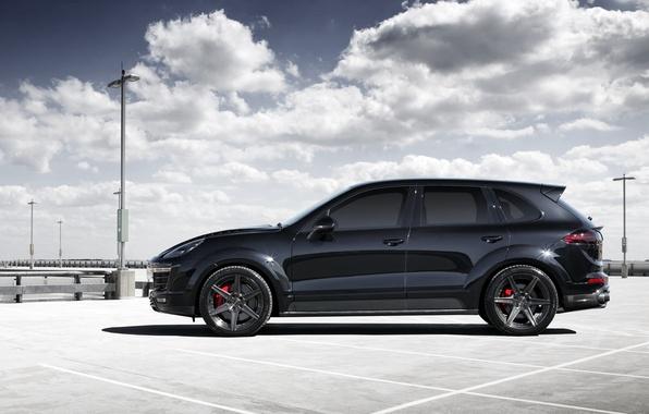 Picture black, Porsche, Porsche, Cayenne, Cayenne, Ball Wed, 2015, Blck