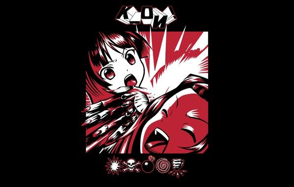Picture music, girls, mood, minimalism, anime, album, hatred, art, Mio Akiyama, light music, Tainak To Knighty, …