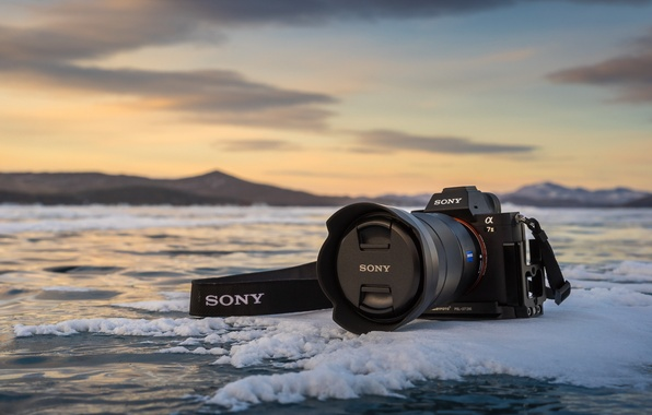 Picture ice, camera, Sony