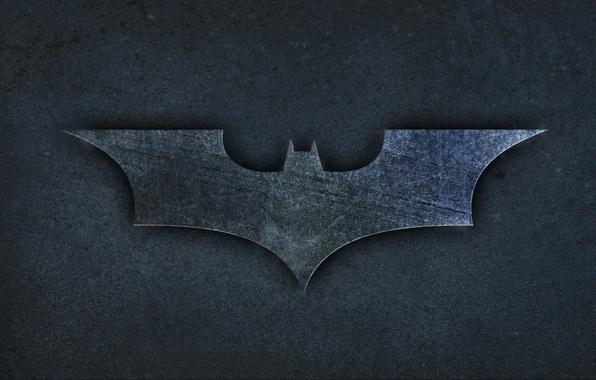 Picture the film, Batman, silhouette, emblem, the volume, Batman