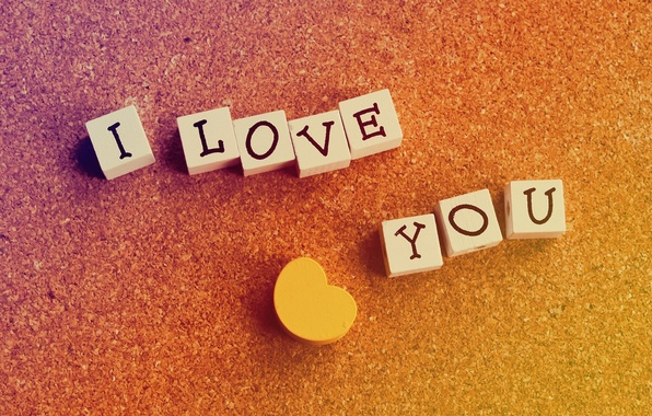 Picture background, widescreen, Wallpaper, cubes, mood, heart, signs, cube, wallpaper, form, heart, i love you, widescreen, …
