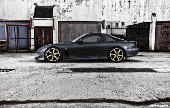 Picture Mazda, ghost, jdm, rx7