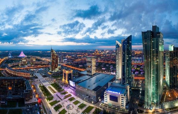 Picture Panorama, Kazakhstan, Astana