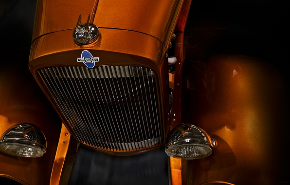 Picture retro, classic, chevrolet, convertible, the front, 1931