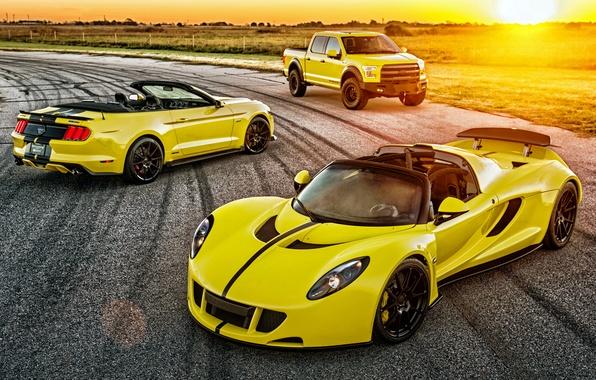 Picture Mustang, Ford, Mustang, Ford, Raptor, Raptor, Hennessey, Venom, venom