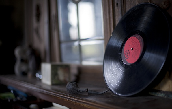 Picture music, tube, vinyl, record