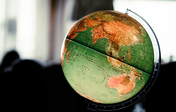 Picture background, ball, globe