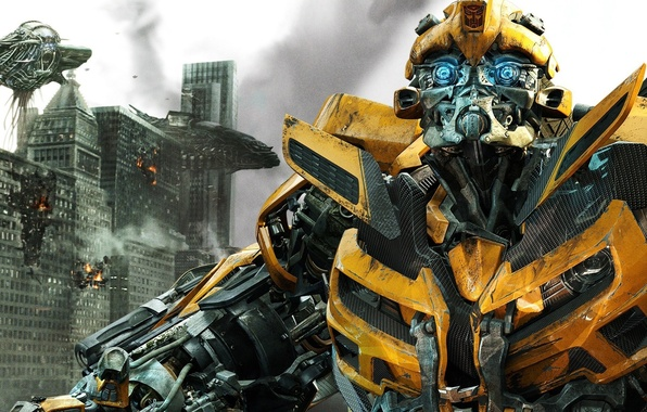 Picture fiction, robots, Transformers, the movie, the Autobots, Bumblbee, Bumblebee, Michael Bay, Michael Bay, Dark side …