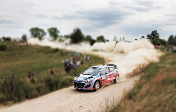Picture Auto, Dust, Sport, Machine, Skid, Day, WRC, Rally, Rally, i20, Hyundau