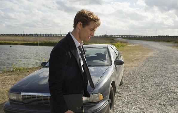 Picture road, machine, the sky, lake, costume, the series, Rast, true detective, Matthew McConaughey, true detective, …