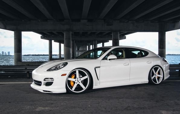 Picture Auto, Bridge, Porsche, Tuning, Panamera, Machine, Drives, Bump