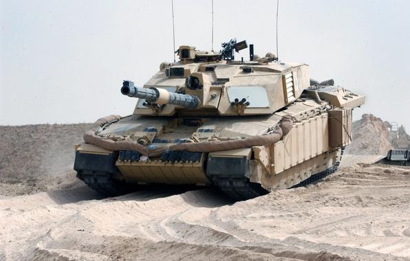 Picture Desert, UK, Tank, Challenger 2