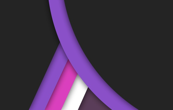 Picture white, line, pink, black, geometry, design, color, material, purple