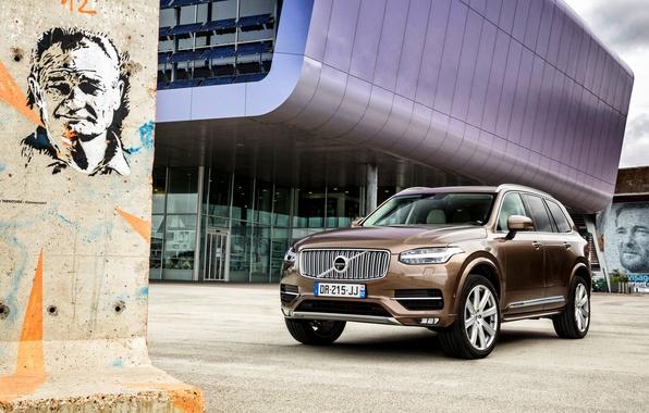 Picture Volvo, XC90, Volvo, 2015, Inscription