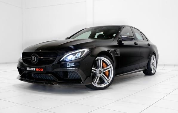 Picture Mercedes-Benz, Brabus, Mercedes, AMG, BRABUS, AMG, 2015, C-Class, W205