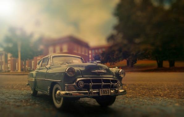 Picture retro, Chevrolet, classic, Bel Air, Chevy, 1953 Chevrolet Bel Air