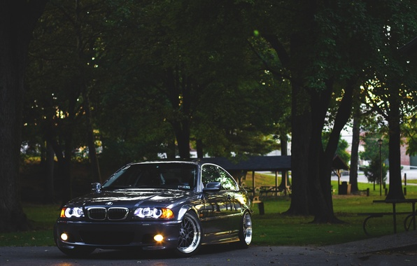 Picture BMW, BMW, Drives, E46, 3 series, Stance
