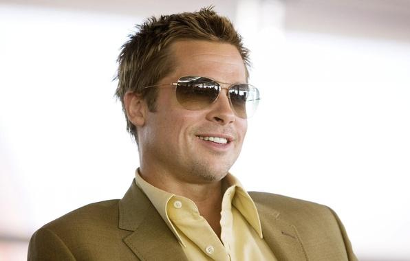 Picture glasses, actor, Brad Pitt