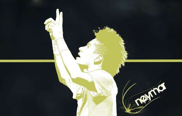 Picture football, sport, star, Brazil, neymar