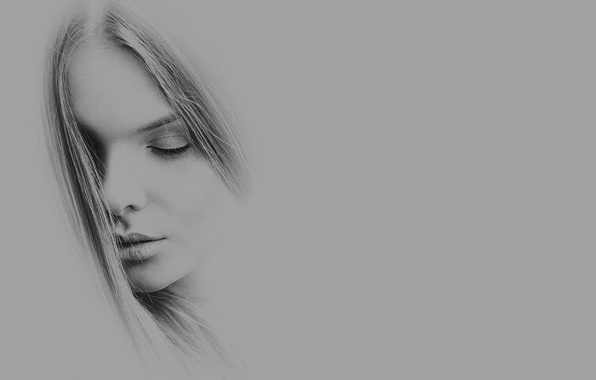Picture girl, figure, portrait