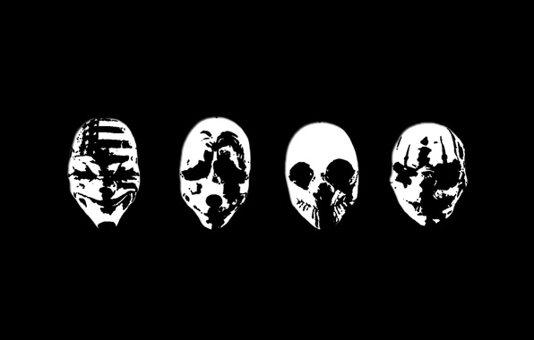 Picture mask, Art, Payday 2, Payday