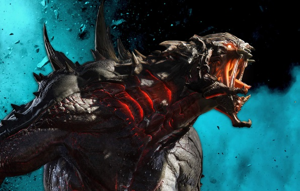 Picture Monster, Goliath, 2K Games, Evolve, Turtle Rock Studios, Goliath