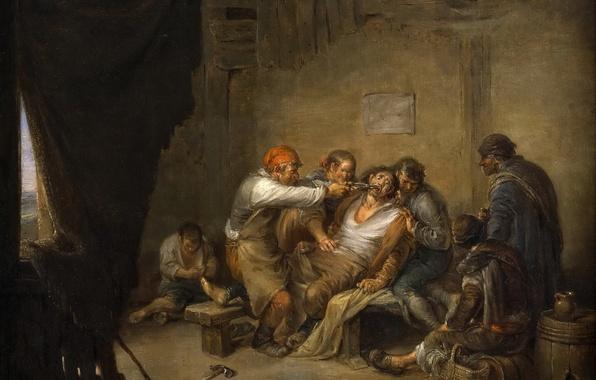 Picture picture, genre, At The Dentist, Leonardo Of Alensa