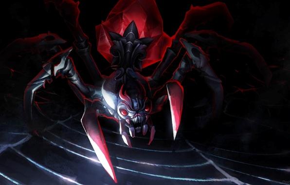 wallpaper broodmother spider dota 2 web art images for desktop