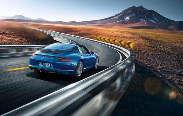 Picture 911, Porsche, turn, Porsche, Targa, Targa