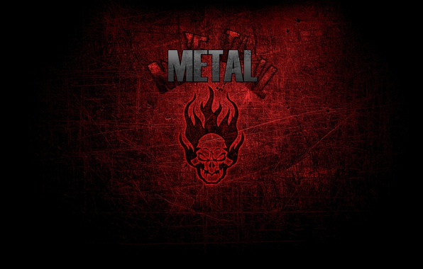 Picture Music, Skull, Style, Metal, Metal