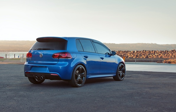 Picture cars, auto, cars walls, Photography, Volkswagen Golf, Volkswagen golf R, Golf r, MKIV, MK6, Rising …