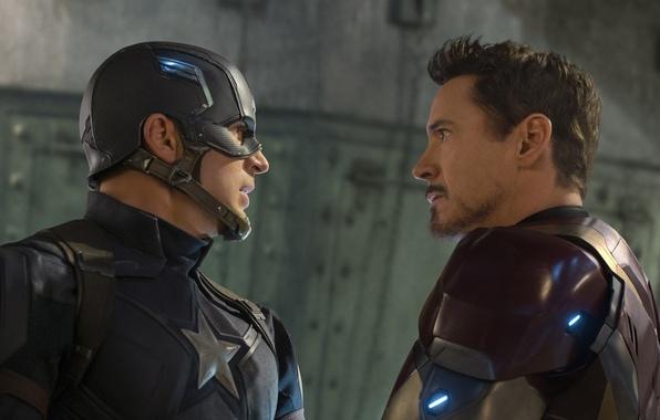 Picture fiction, Iron Man, comic, Captain America, Chris Evans, Robert Downey Jr., MARVEL, Robert Downey Jr., …