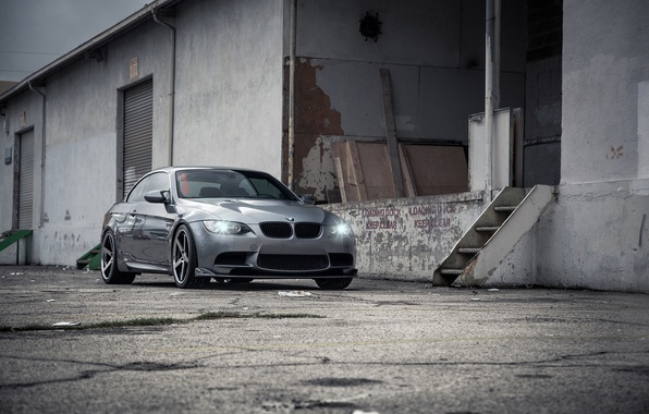 Picture BMW, Lights, E93, Stance, Vossen