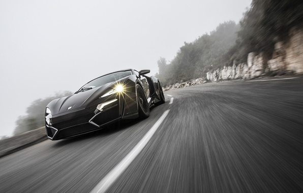 Picture movement, speed, track, HyperSport, Lykan