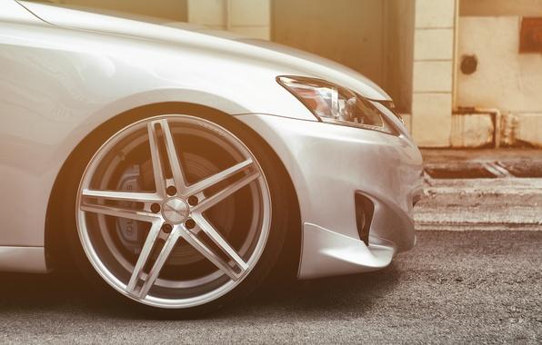 Picture Lexus, Lexus, Drives, tuning, Vossen, IS250, CV5
