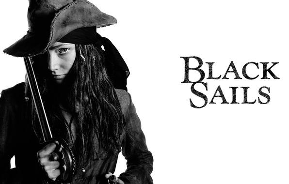 Picture girl, pirate, Black Sails, black sails