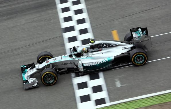 Picture Mercedes, Formula 1, AMG, Nico, Rosberg, 2014, V6 1.6l Turbo, F1 W05 Hybrid, Hokenheim