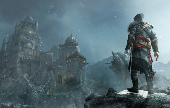 Picture fortress, assassins creed, Ezio, revelations, masiaf