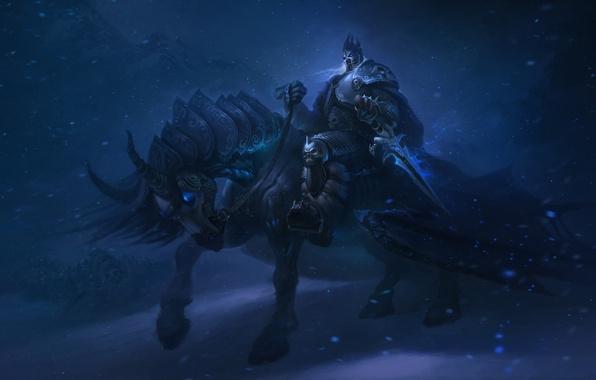 Picture WoW, World of Warcraft, Warcraft, Arthas, Arthas Menethil, King of the fallen Lordaeron