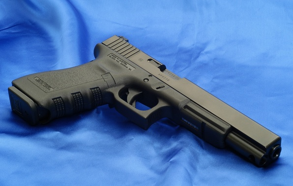 Picture Gun, Wallpaper, Weapons, Glock, Glock, Wallpapers, Canvas, Austria, Weapons, 17L, 17L, Udlinenie