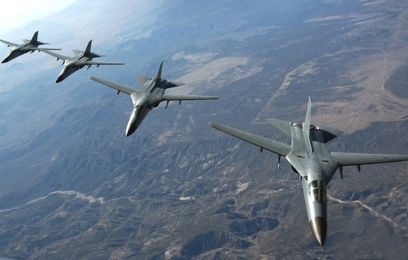 Picture The plane, Flight, Fighter, Earth, Anteater, Height, Multipurpose, In The Air, Aviation, Double, F 111