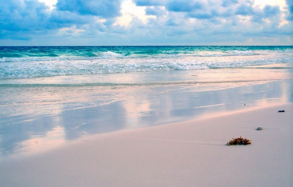 Picture sand, wave, Beach