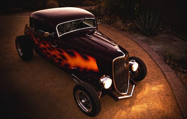 Wallpaper Hot-Rod, 1933, Ford Coupe images for desktop ...