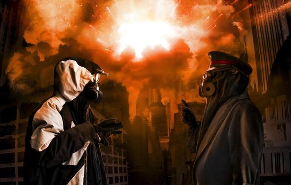 Picture art, boom, art, romance of the Apocalypse, romantically apocalyptic, alexiuss