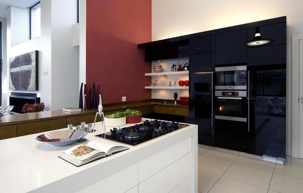 Picture design, furniture, interior, technique, kitchen