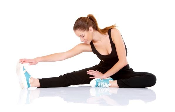 Picture fitness, fit, sportswear, elongation