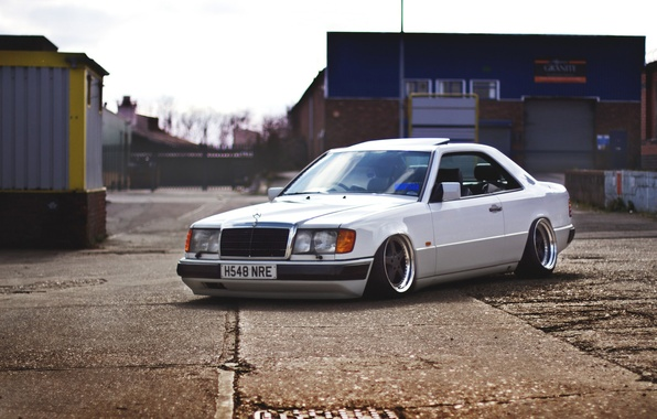 Picture Mercedes-Benz, Mercedes, Coupe, Stance, E-Class, C124