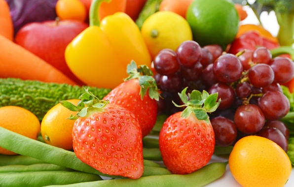 Picture berries, strawberry, fruit, vegetables, fresh, fruits, berries